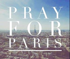 paris, prayforparis, and pray for paris image