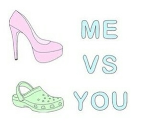 me, funny, and heels image