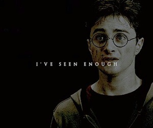 destiny, enough, and harry potter image