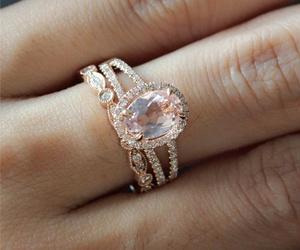 wedding and engagement ring image