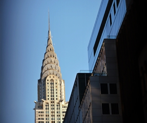 chrysler building and new york image