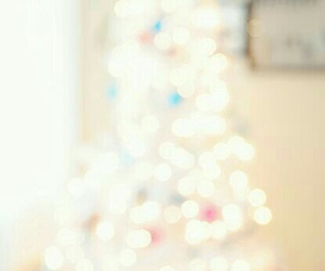 christmas, white, and lights image