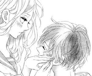 manga, cute, and couple image