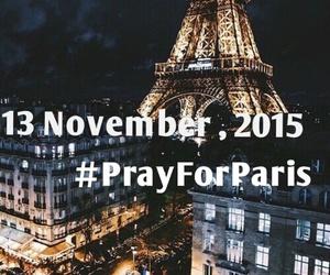 prayforparis, paris, and pray image