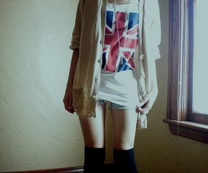 faded, girl, and lookbook image