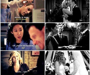 grey's anatomy, meredith and derek, and mark and lexie image