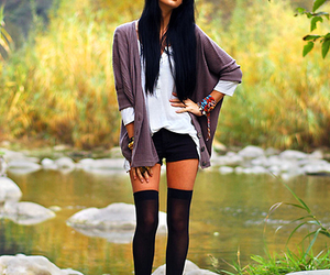 black hair, classy, and smexy image