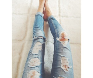 jeans and legs image