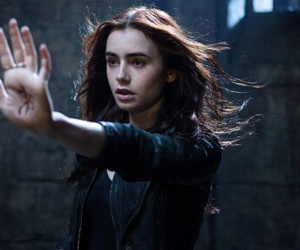 lily collins, city of bones, and clary fray image