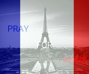 france, attentat, and pray for paris image
