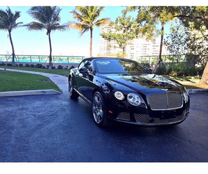Bentley, convertible, and luxury car image