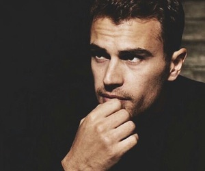 theo james and divergent image