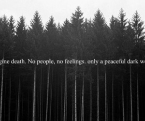 death, dark, and quotes image