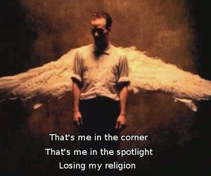 losing my religion, rem, and R.E.M image