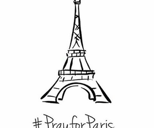 france, terrorism, and pray for paris image