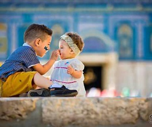 child and فلسطين image
