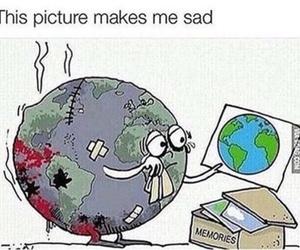 sad, world, and memories image