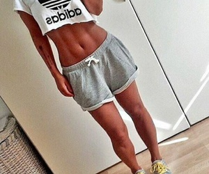 abs, crop, and fitness image