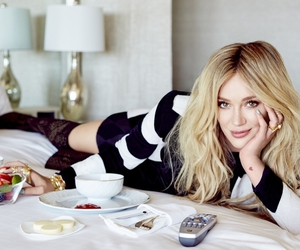 Hilary Duff, blonde, and lizzie mcguire image