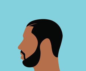 aesthetic, vapor wave, and Drake image