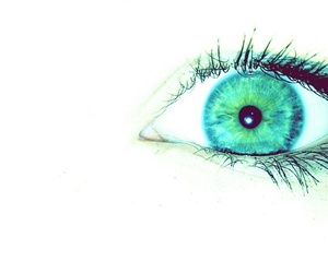 blue, eye, and green image