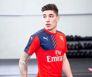Arsenal, football, and hector bellerin image