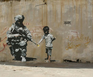 BANKSY, art, and peace image