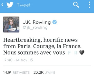 france, harry potter, and jk rowling image