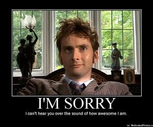 doctor who, david tennant, and awesome image