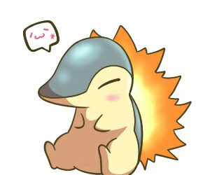 pokemon and cyndaquil image