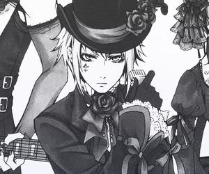 anime, sebastian, and black butler image