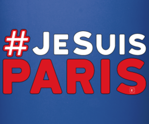 soutien, pray for paris, and attentat image