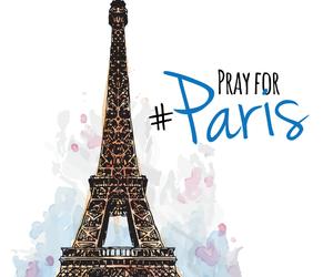 soutien, attentat, and pray for paris image