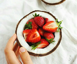 coconut, delicious, and food image