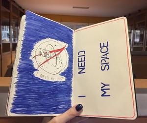 book, nasa, and space image