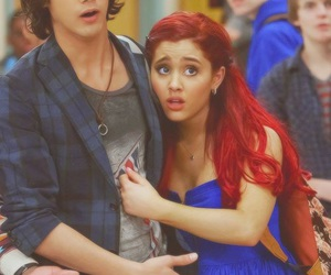 ariana grande, victorious, and avan jogia image