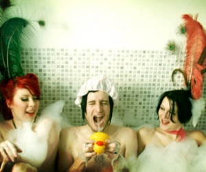 baths, bubble bath, and silly image