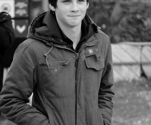 logan lerman, boy, and percy jackson image