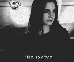 alone, grunge, and lana del rey image