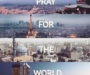 world, pray, and paris image