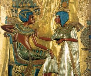 egyptian, gold, and tut image