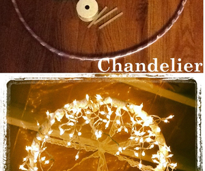 diy, light, and chandelier image
