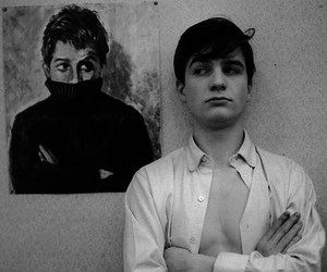 black and white, jean pierre leaud, and jean-pierre leaud image