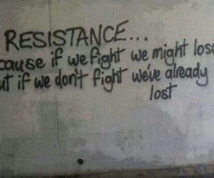resistance and fight image
