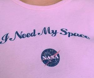 pink, nasa, and space image