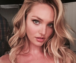model, pretty, and candice swanepoel image