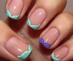 nails, disney, and ariel image