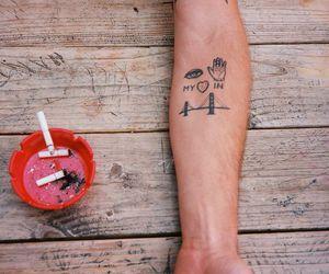 california, frisco, and tatoo image
