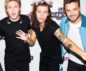 Harry Styles, liam payne, and niall horan image