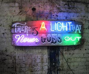 light, neon, and the smiths image